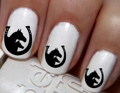 20 pc Double Horse Head And Horse Shoe Colt And by EasyNailTrends