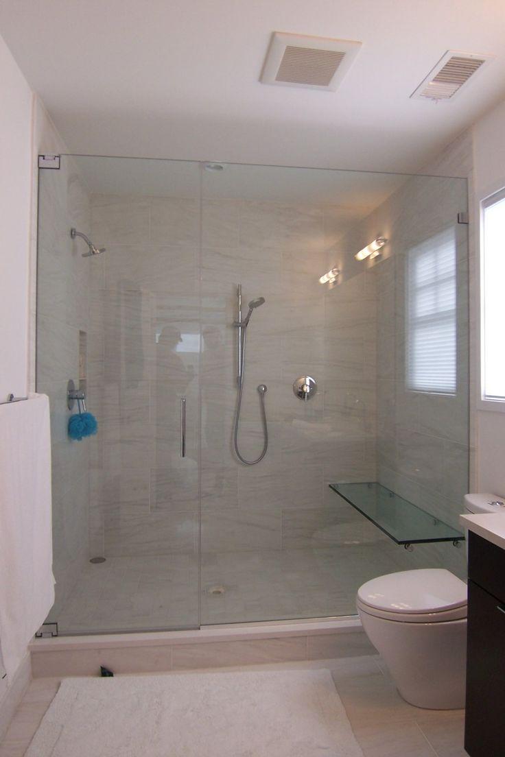 Shower Doors Walk In Showers Without Doors