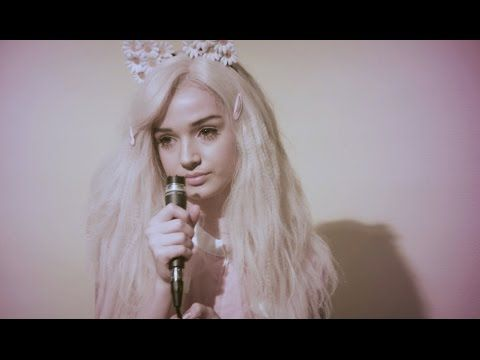 My Kind of Woman - Mac Demarco - POPPY Those flower cat ears! What a cute concept! Must craft my own