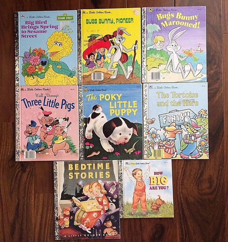Vintage Lot Little Golden Books First Little Golden Book Child Bedtime Stories