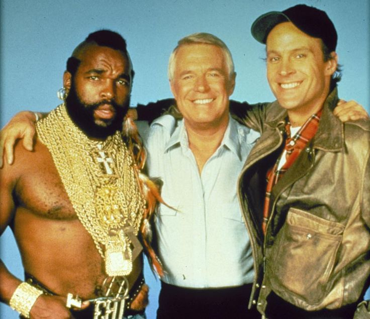 ... L'Agence tous risques : Photo Dwight Schultz, George Peppard, Mr. T L'Agence ...