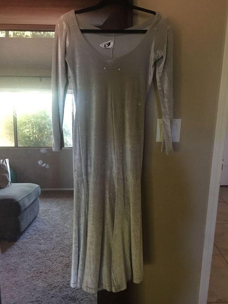 Betsey Johnson VINTAGE 70's Dress Silver  #BetseyJohnson #Cocktail