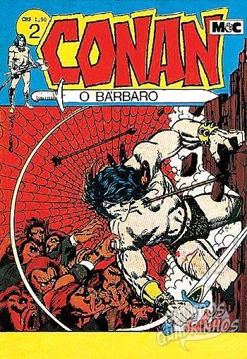 Conan O Bárbaro n°2 - Minami & Cunha (M & C) - Guia dos Quadrinhos