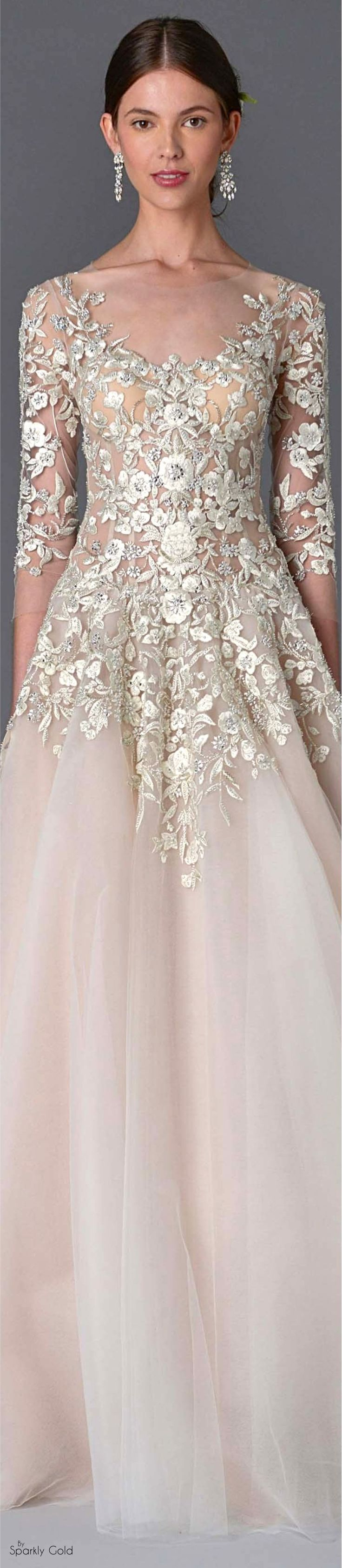 Marchesa Spring 2017 Bridal                                                                                                                                                                                 More