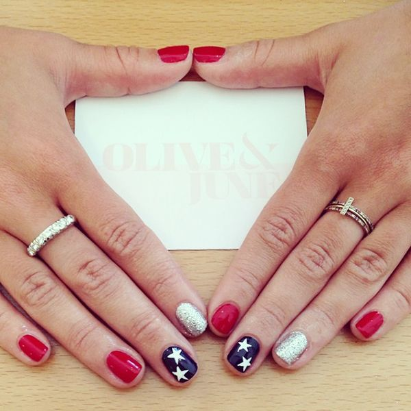 The BEST Instagrams For Summer Inspiration #refinery29  http://www.refinery29.com/los-angeles-instagram#slide5  What: @oliveandjune Who: Beverly Hills nail salon Olive & June. Why: Perfect summer nail-art inspo for your next mani!