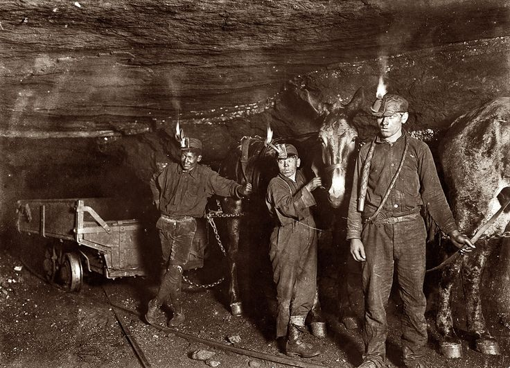 My Grandpa was a West Virginia Coal Miner.  When I looked down at his weathered hands they had black coal under the skin where he had gotten cut in the mines and it had embedded in the cuts.  Miners are a breed apart.