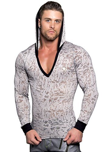 Fog V-Neck Hoodie, Grey, Small Andrew Christian http://www.amazon.co.uk/dp/B015NMGJI6/ref=cm_sw_r_pi_dp_ovQlwb0ZEGF77