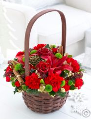 Warm Wishes Festive Basket Plus