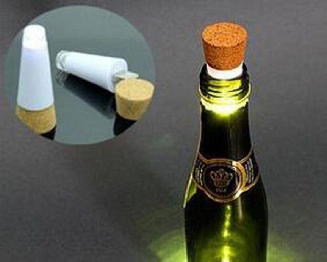 Креативный СВЕТОДИОДНЫЙ Бутылки Вина Пробки USB Аккумуляторная Ночь Свет Лампы Ребенку Играть Для Party Bar Рождество Счастливый Продажи ap518-1
