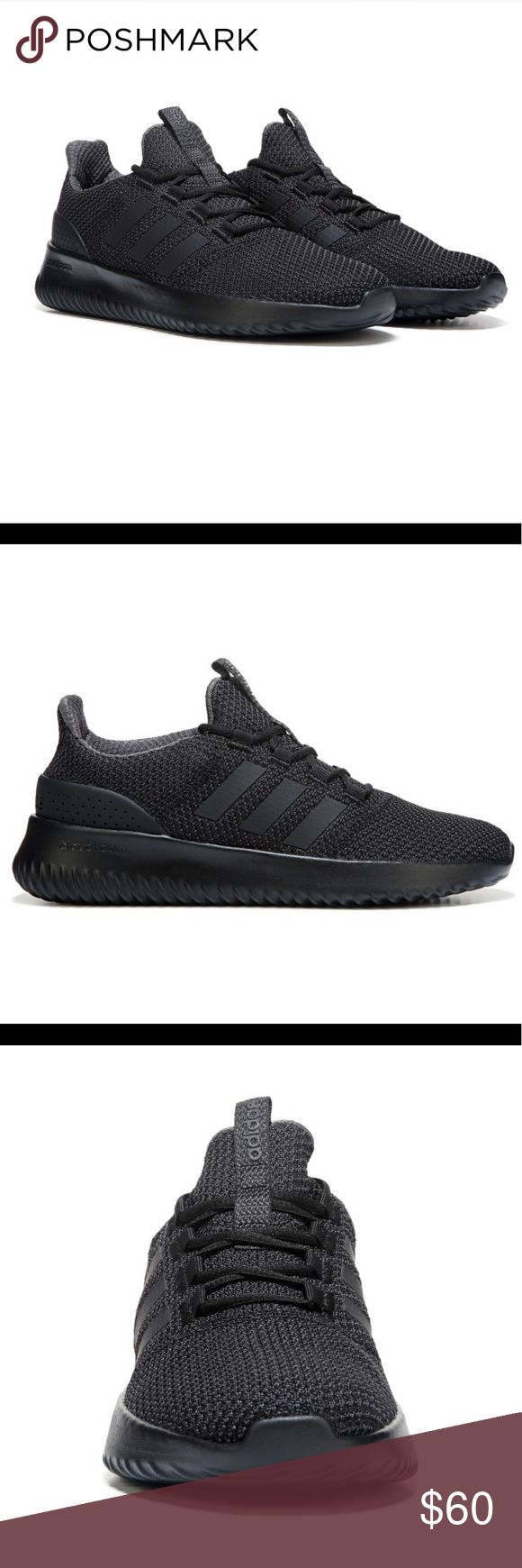 Adidas NEO Cloudfoam Ultimate Men's Sneakers Adidas NEO Cloudfoam Ultimate Men's Sneakers Size 8 - Black/Black Worn once (inside) for an Adidas modeling photoshoot adidas Shoes Sneakers