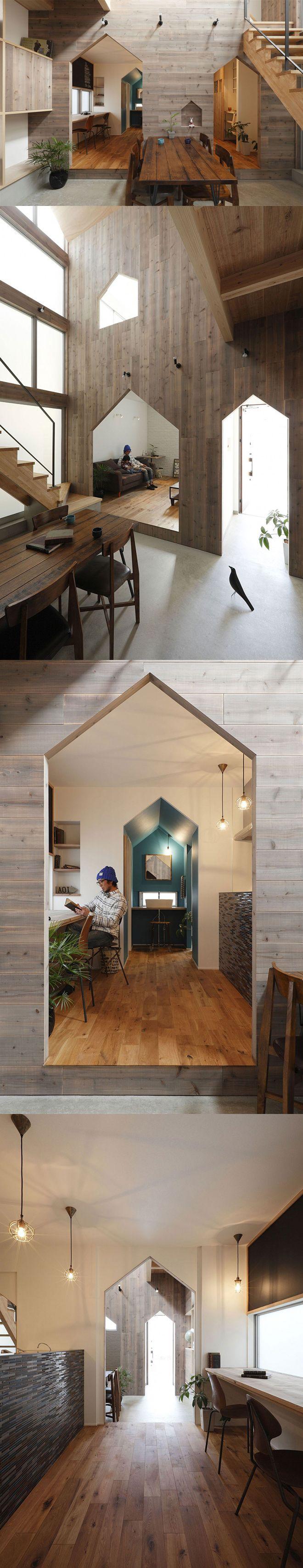 Hazukashi house in city of kyoto architects alts design office