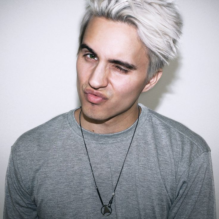 Charming White Hair Check Out My Videos At Http://www.youtube.com · Men  HairstylesMenu0027s ...