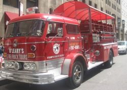 Fire Truck Tour of Chicago