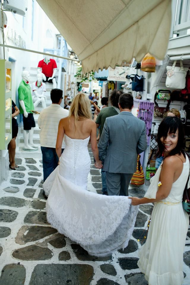 Mykonos Island destination wedding. Mykonos Exclusive weddings