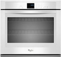 "Whirlpool 30"" White Single Electric Wall Oven"