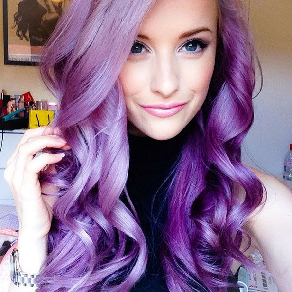 Big Hair Friday - Purple, Pink and Lilac Hair