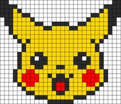 héros-cartoon-bd - pikachu - point de croix - cross stitch - Blog : http://broderiemimie44.canalblog.com/