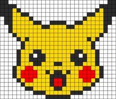 héros-cartoon-bd - pikachu - point de croix - cross stitch - Blog : http://broderiemimie44.canalblog.com/