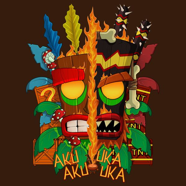 #crash #bandicoot #tshirt #mask