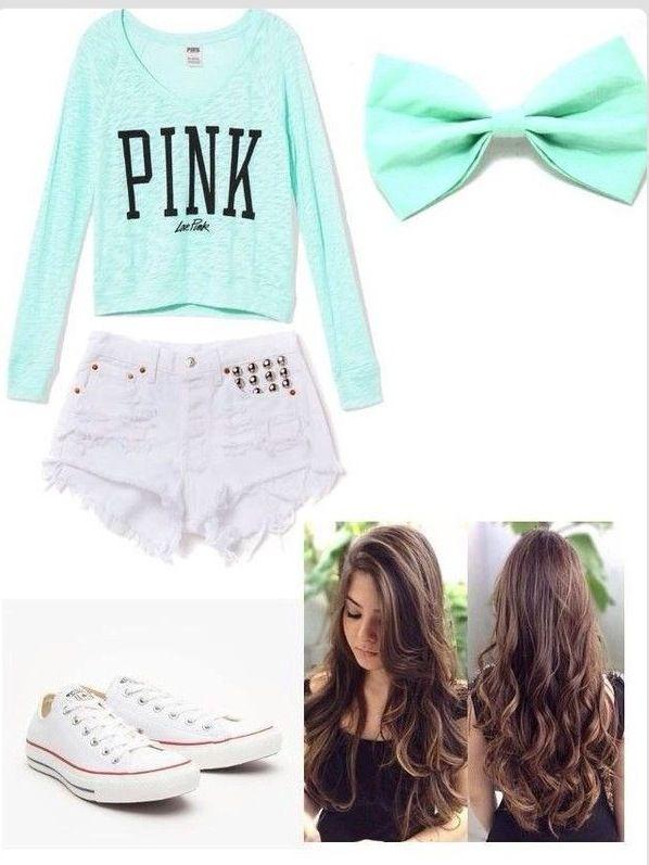 Love pink  Victoria secret Cute Summer Bow Tumblr