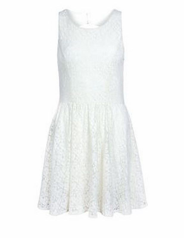 Fairy Dress | 27 Boutique The Fairy Dress from ONLY - the perfect go-to dress for any occasion. Gorgeous lace with an open back (but still bra friendly). Accessorize with a belt & some gorgeous pumps from Chinese Laundry!