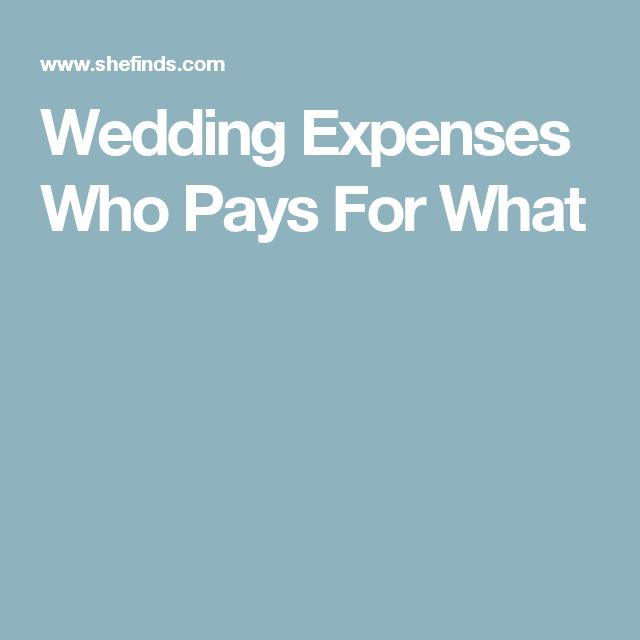 Best 25 Wedding Expenses Ideas Only On Pinterest Groom Etiquette Party List And Engagement