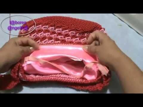 Cómo forrar un bolso de trapillo | Tutorial DIY - YouTube