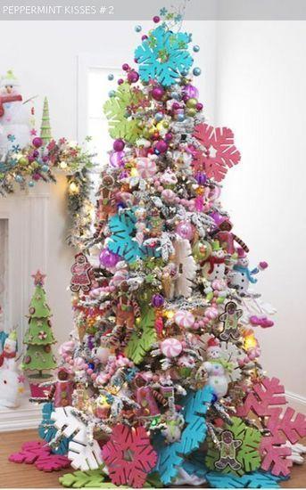 665 best christmas tree ideas images on pinterest | xmas trees