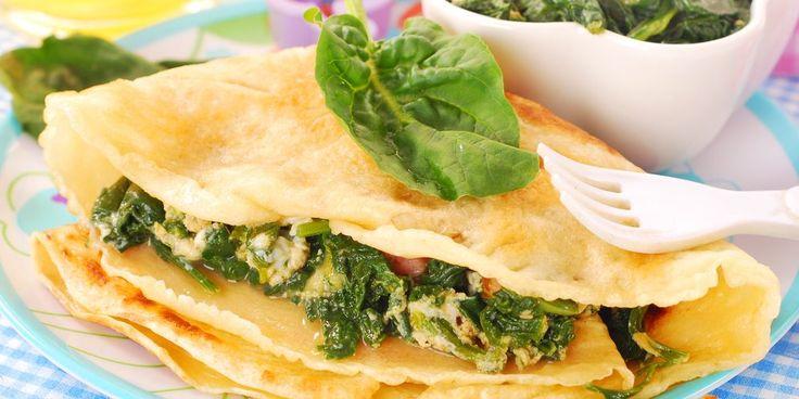 Crêpes à la florentine | Mes recettes faciles