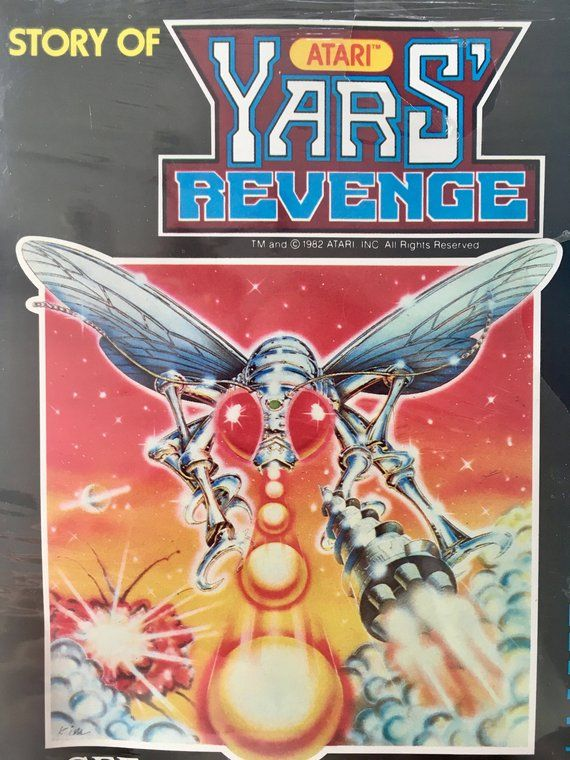 Atari - Story of Yars' Revenge SEALED 7' Vinyl Record / Book
