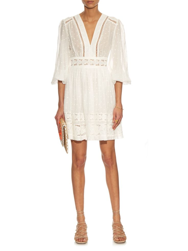 Realm embroidered cotton-voile dress | Zimmermann | MATCHESFASHION.COM UK