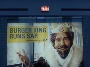 If the King runs it ...?