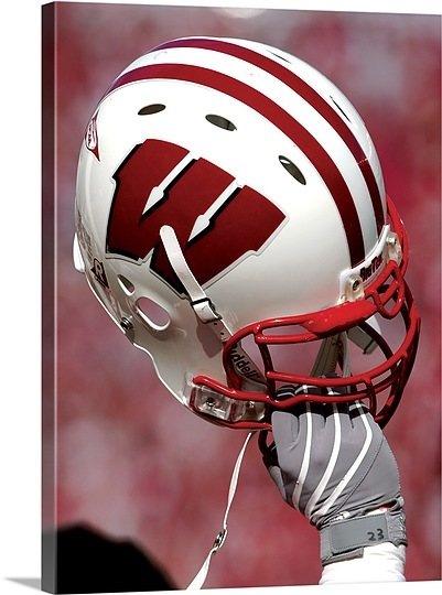 Wisconsin Badgers Football Helmet