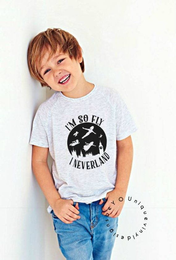 79094636b I'm so fly I neverland shirt/ peter pan / Disney Vacation / Cute Kids Shirt  / toddler Shirt / I'm so fly shirt /Trendy kid shirt