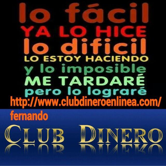 Hola ,  Clubdineroenlinea no es un multinivel, somos un grupo de personas que avanzamos en equipo. Hemos dado la vuelta a todo lo que se conoce en el mundo de MLM, nosotros no promocionamos negocios, nos ayudamos en la creación de red para capitalizarnos y entrar todos juntos en las diferentes fuentes de ingresos que tenemos en nuestra zona de miembros. http://www.clubdineroenlinea.com/fernando skype arleyfernandocardenas