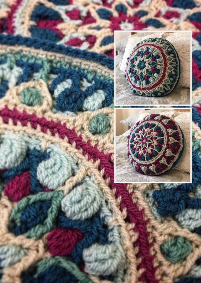 , Mint Coffee Mandala by lillabjorncrochet.