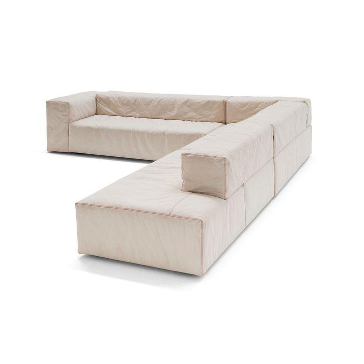 Sofá lego modular.