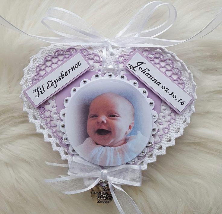 Dåpskort Baby