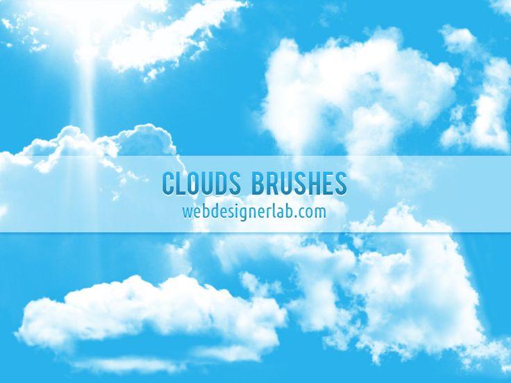 Clouds Brushes by xara24.deviantart.com on @DeviantArt