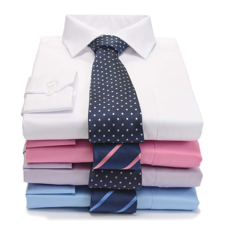 The luxurious 100% Cotton, non-iron, wrinkle free, maximum anti-allergenic Paradigm Shirt by Double TWO #MensShirts #FormalShirt #Menswear #DoubleTWO #White #Pink #Lilac #Blue
