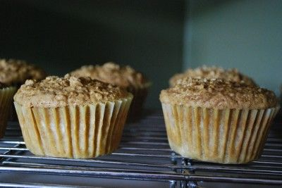 Baked Oatmeal Muffins THM E recipe makes 4 servings so double for our family of 9.