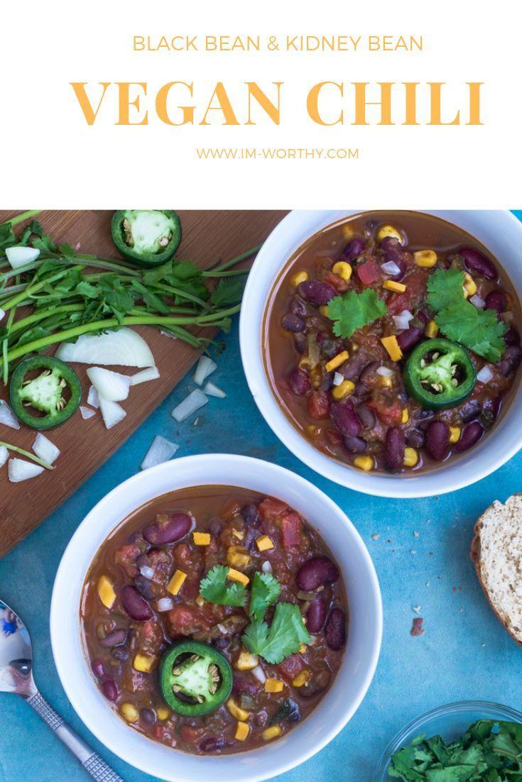 One Pot Easy Vegan Chili