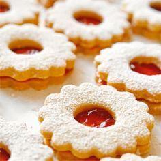 Rezept von Christiane Leesker: Spitzbuben und Butterplätzchen - Christmas cookies
