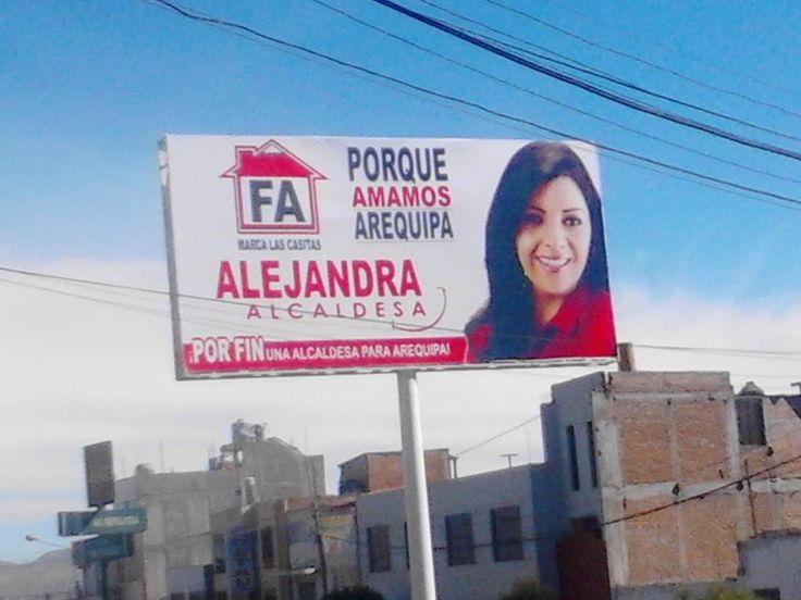 AREQUIPA. PPC eliminó candidatura de Alejandra Aramayo al sillón provincial por Fuerza Arequipeña (VIDEO) http://hbanoticias.com/10451