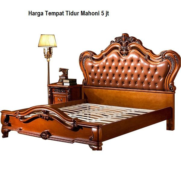 Harga Tempat Tidur Mahoni 5 Jt