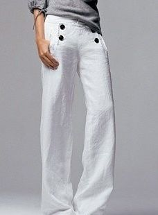 Love a good sailor pant