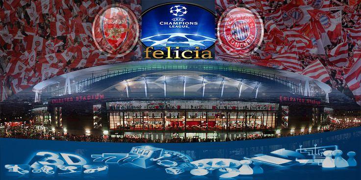 By : Felicia | ARSENAL vs BAYERN MUNCHEN | UEFA CHAMPIONS LEAGUE | Gmail : ag.dewibet@gmail.com YM : ag.dewibet@yahoo.com Line : dewibola88 BB : 2B261360 Path : dewibola88 Wechat : dewi_bet Instagram : dewibola88 Pinterest : dewibola88 Twitter : dewibola88 WhatsApp : dewibola88 Google+ : DEWIBET BBM Channel : C002DE376 Flickr : felicia.lim Tumblr : felicia.lim Facebook : dewibola88