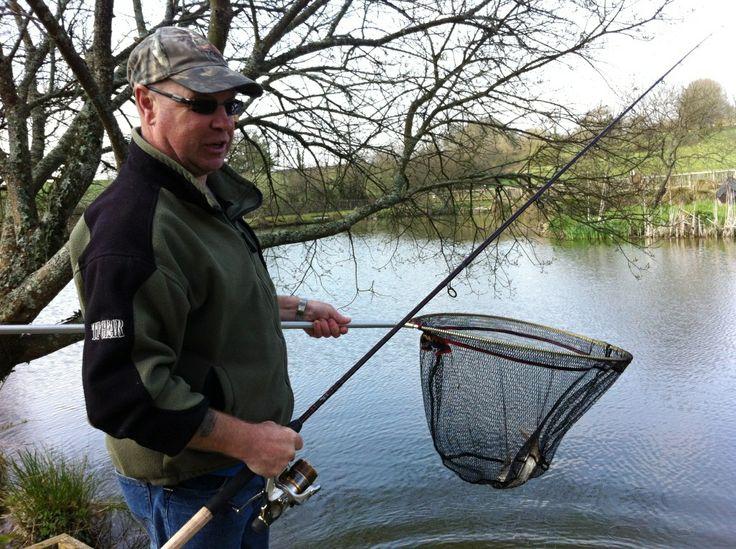 Fisherman at Meadow Lakes