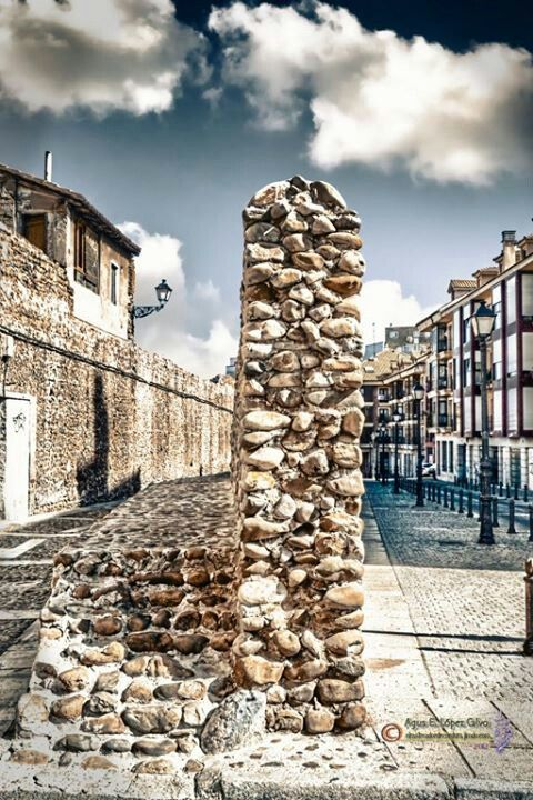 Muralla medieval,  calle las cercas