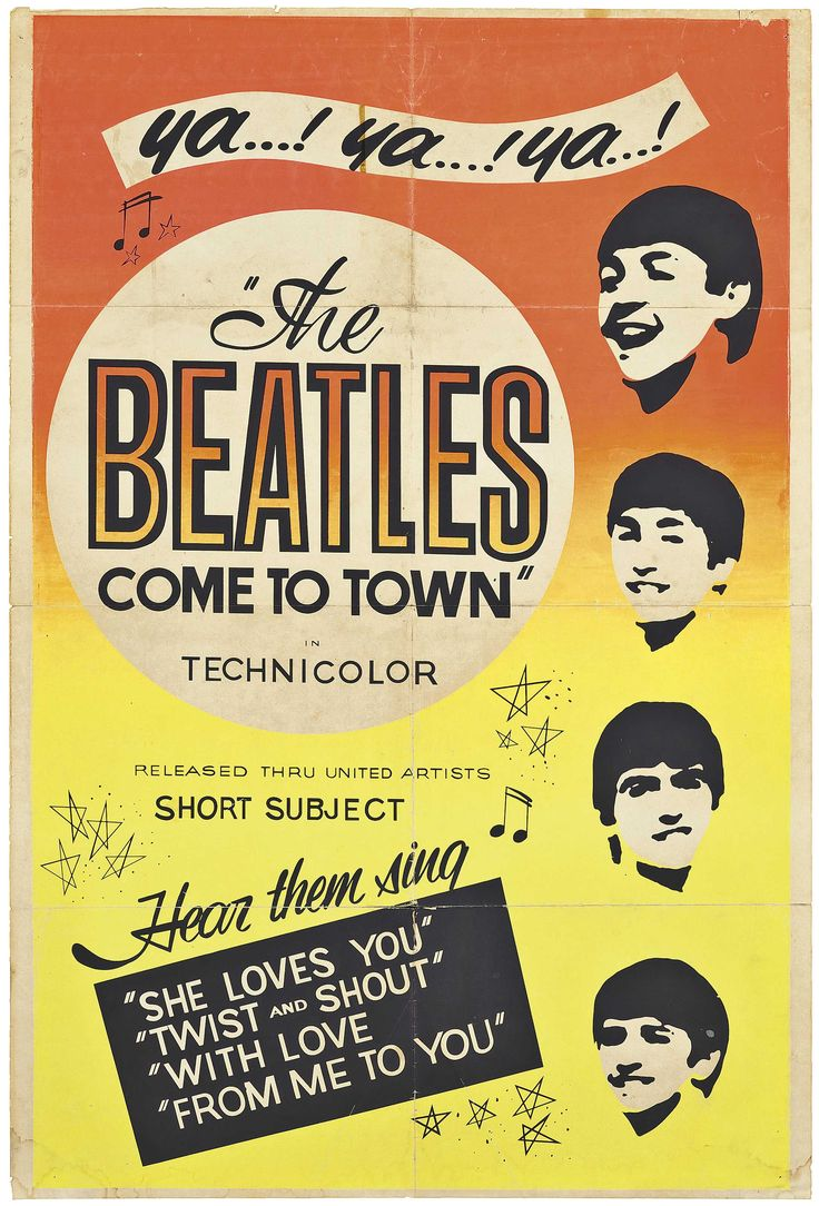「beatles comes to town yah」の画像検索結果